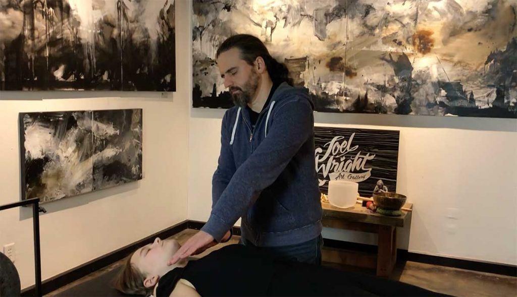 joel wright reiki healing